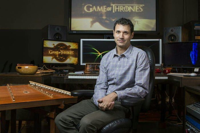 Can we take a moment to appreciate the real MVP for composing one of the greatest soundtracks in motion picture history wothout ever letting us down. Ladies and gentlemen: Ramin Djawadi. #GameOfThonesFinale #GameOfThrones