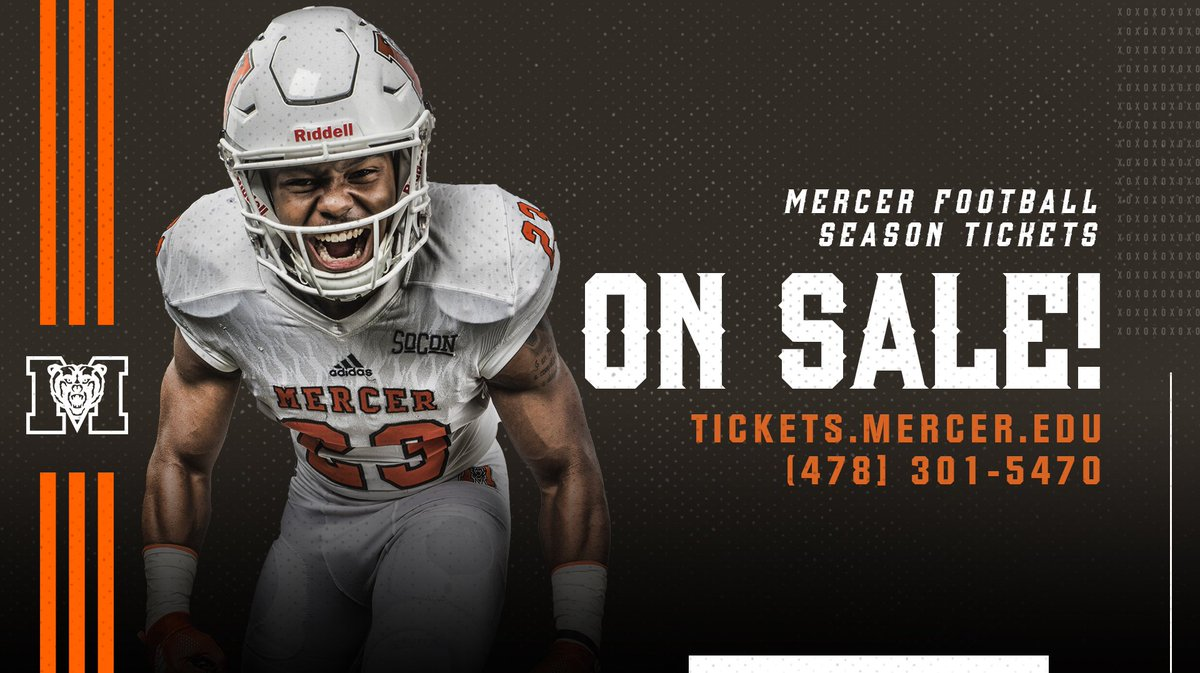 Bring the roar in fall '19. 😤 Purchase your season tickets for our six-game home slate!  #RoarTogether  🎟: http://bit.ly/2IRugMn  📱: (478) 301-5470