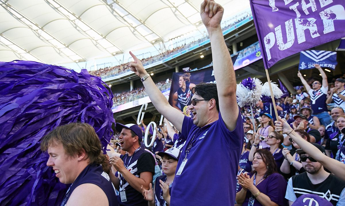 ⚓ Dockers will take on the Lions of Brisbane in the Sir Doug Nicholls Round on Sunday #AFLFreoLions 🎫Secure your tickets to the match 👉 http://bit.ly/FreoLions