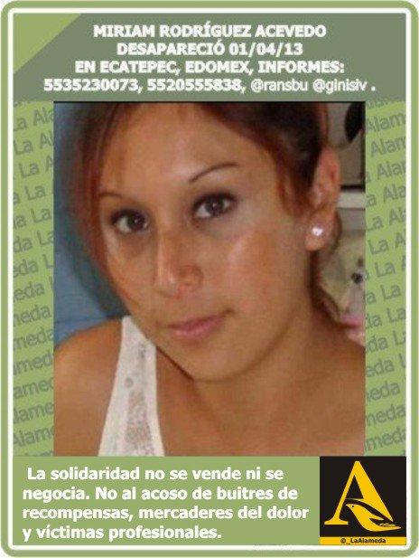 #Tebuscamos Miriam Rdgz Acevedo 1/4/13 #Ecatepec #Edomex #Toluca