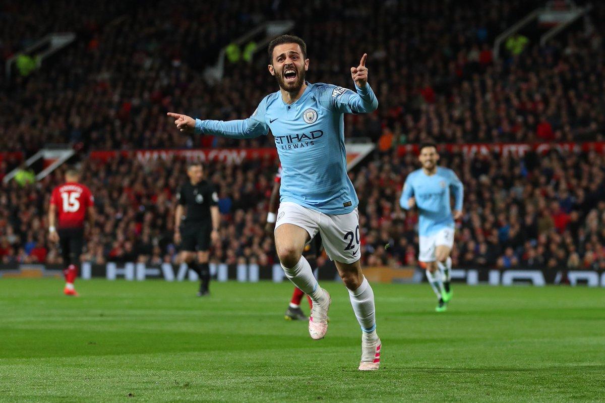 Bernardo Silva élu joueur de l'année à Manchester City