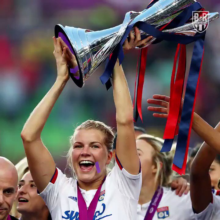 This weekend @AdaStolsmo ran riot in the #UWCL final, and her sister, @AndrineStolsmo, flew to Budapest to witness her historic performance 🙌🌟