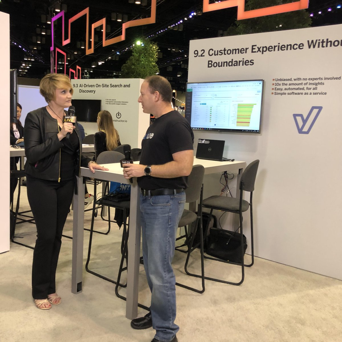 Sometimes you should listen to customer #feedback outside the parameters of surveys, interviews, and focus groups. My interview with @revuze at #SAPCXLive explored how it can be done: when you don&#39;t define anything, then you can listen for everything.  https:// youtu.be/2LtGCjzS11Q  &nbsp;   #CX<br>http://pic.twitter.com/BDkKCGgkNL