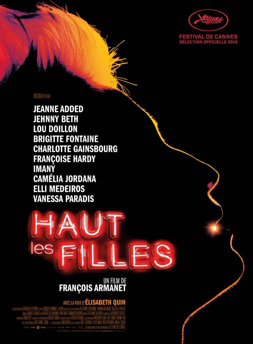 """Ce soir à 21h30 🎤 Vibrez rock au #CinemaDeLaPlage avec """"Haut les filles"""", le documentaire de François Armanet et Bayon coproduit par l'INA en avant première au @Festival_Cannes ! 🎵🎥"""