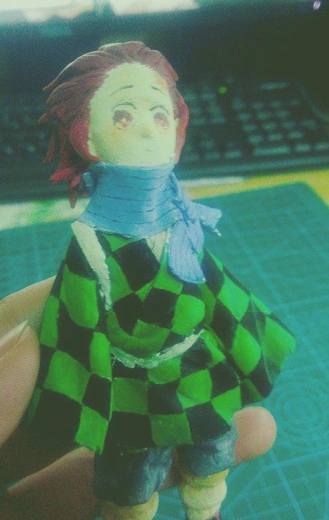 RT @glam895: Figure Tanjirou #腐滅の刃 #竈門炭治郎 #鬼滅の刃 #Figure #hand_made https://t.co/foDRBjTmuN https://t.co/ZVLDMIdhQV