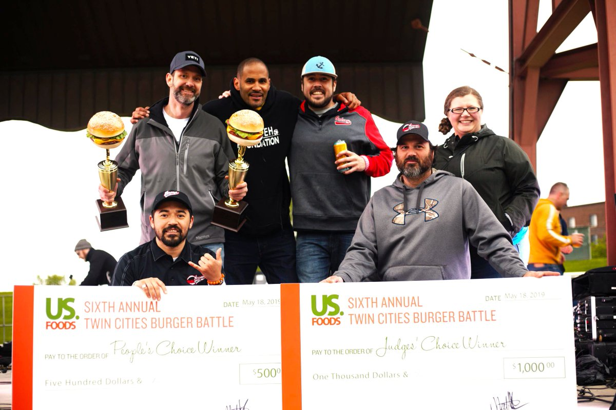 test Twitter Media - Thank you to everyone who participated in the Twin Cities Burger Battle on Saturday. Congratulations @jerseysbar for winning both the Judge's & People's Choice award for the first time in TCBB history. Thank you @tcburgerbattle for having TSF! https://t.co/Fkk65wYH0D