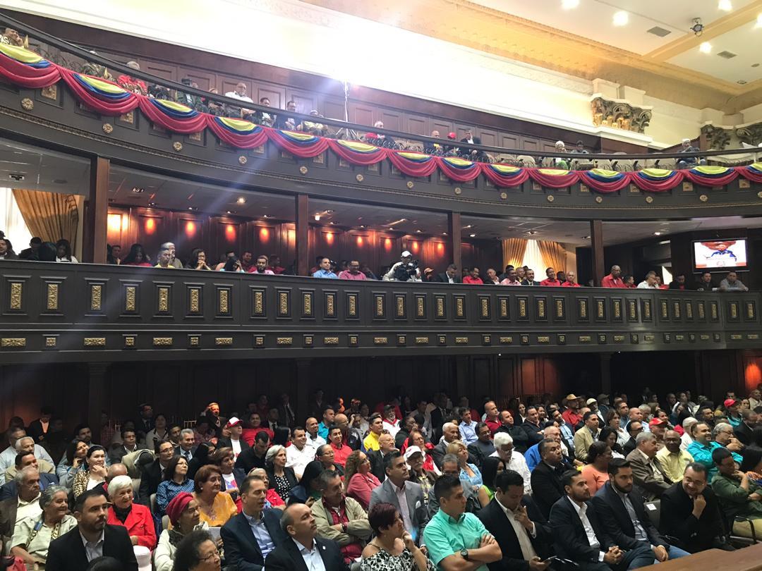 Constituyente Hermann Escarrá: Nosotros somos serios ante el país y aunque tengamos toda la organización para comenzar el debate, es imposible que estuviera listo para agosto. Hay quienes creemos en las comunas y hay quienes no. #ANCHasta31Dic2020