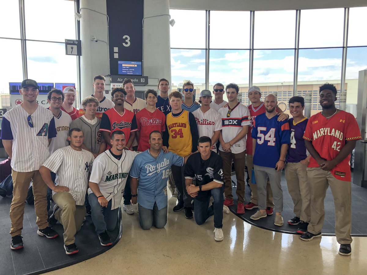 Jersey travel swag on the way to Omaha   Who did it best? #DirtyTerps<br>http://pic.twitter.com/H4YIwJE7Sk