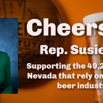 Image for the Tweet beginning: Thanks @RepSusieLee for sponsoring the