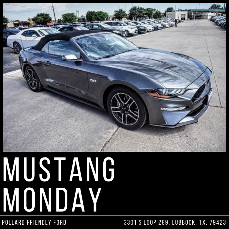 pollard ford on twitter it s mustangmonday this sporty 2018 ford mustang gt premium is calling your name get behind the wheel today https t co tgmrrz8pop pollardford fordmustang lubbock texas https t co d2ktz4fepo twitter