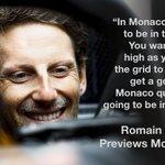 Q&A Time 🇲🇨 #MonacoGP  @RGrosjean's on the hunt for more points in Monte ➡️ https://t.co/2Zx3jIXzA3