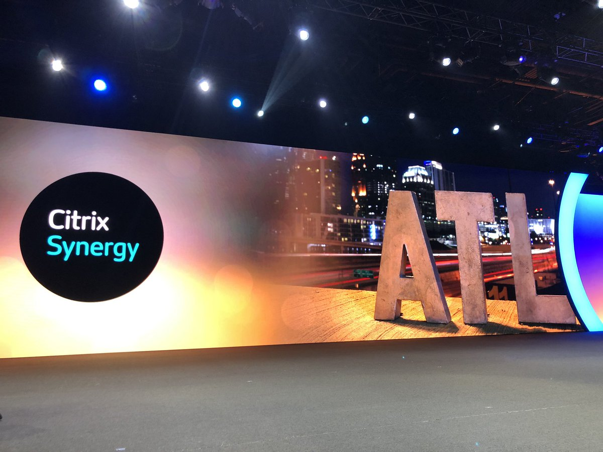 David J Henshall's photo on #CitrixSynergy