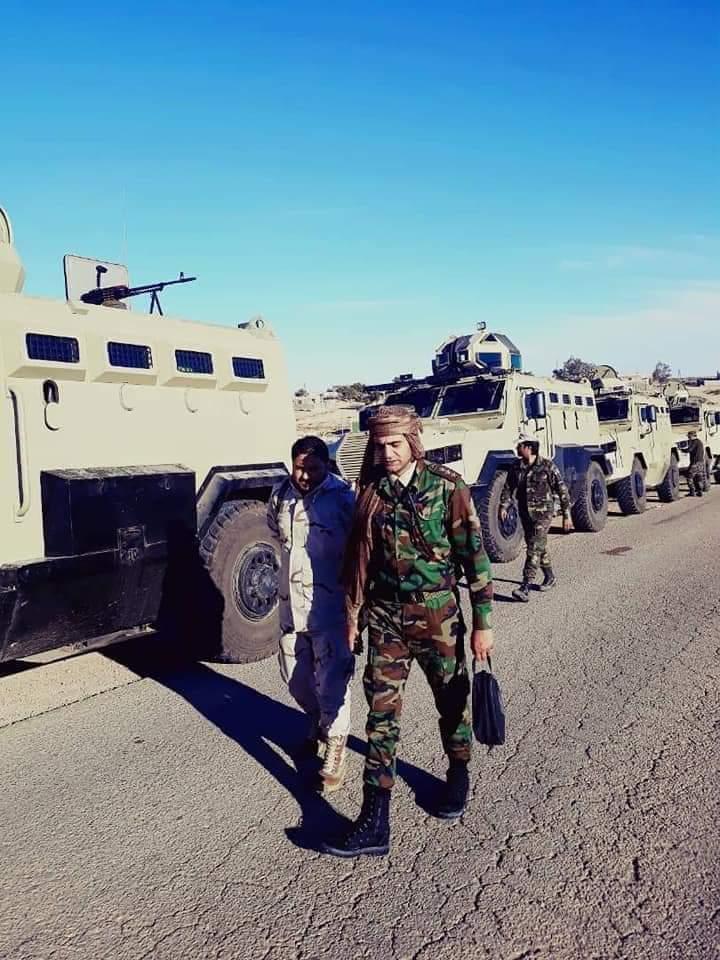 ظهور مدرعات الاردنية المارد 8x8 و المومباي 6x6 و الوحش 4x4 في ليبيا D7BDtBKW0AAGULI