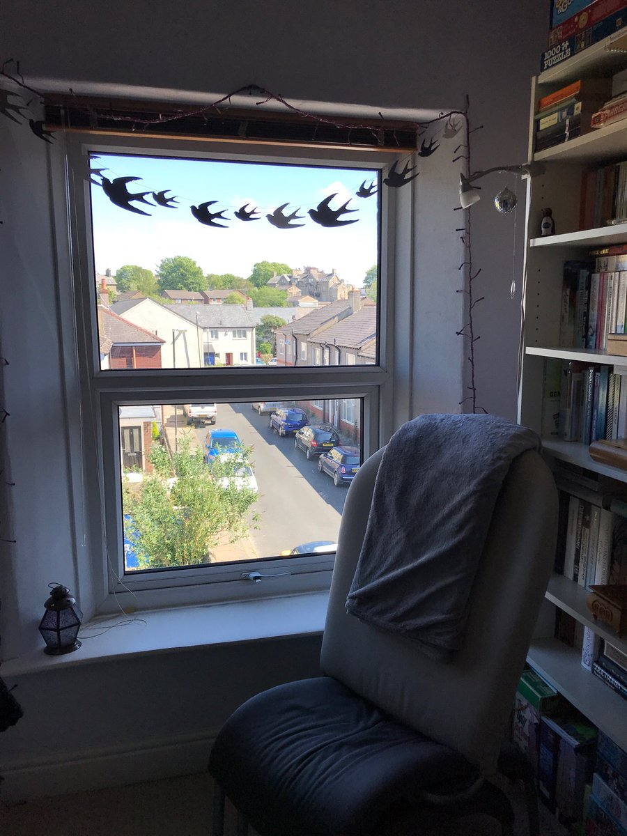 @SharonMcG1971 I think the swallow bunting has found its natural home.