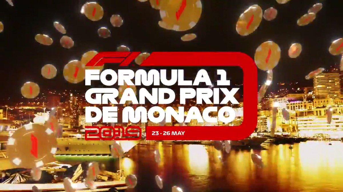 F1's Landing in Monaco this weekend! Open the bet! #MonacoGP