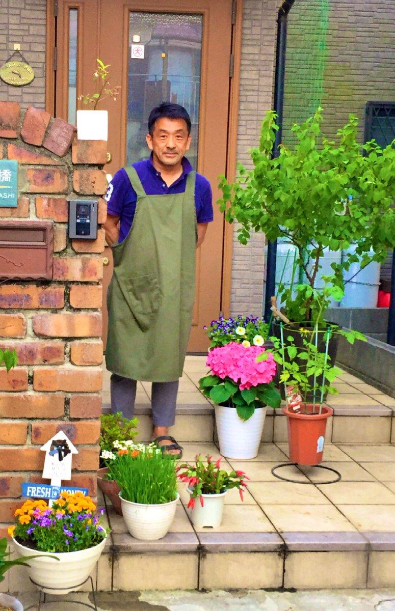 Twitterのプロフ写真をそろそろ夏用に変えなさいとか、園芸店に就職したんだね〜とか、その突っ込みは老いて益々強者な母…(笑)