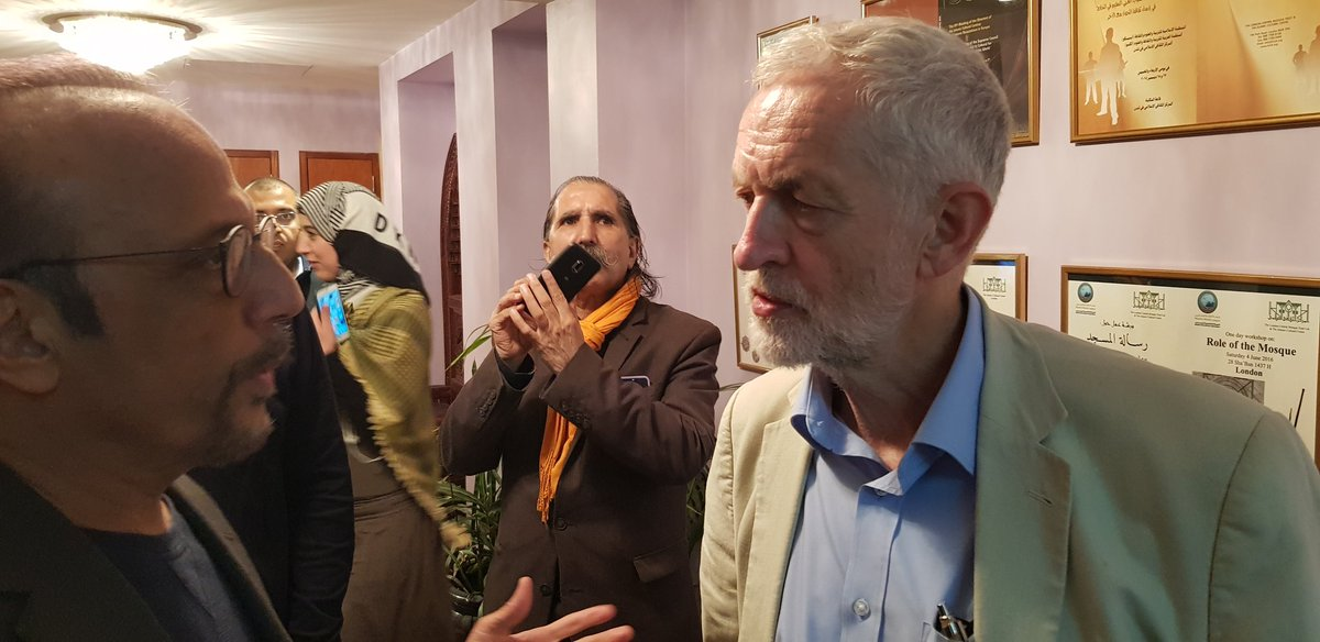 .@jeremycorbyn tells me in an interview yesterday that Govt should act quickly and adopt #Islamophobia definition same was as Labour Party has as #Islamophobic attacks r taking place on the streets in our country.