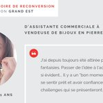 Image for the Tweet beginning: [#Reconversion] Nous sommes fiers d'avoir