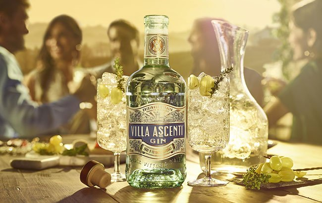 Villa Ascenti is going down a storm in the drinks industry...designed by @BulletproofIntl #branding #packagingdesign