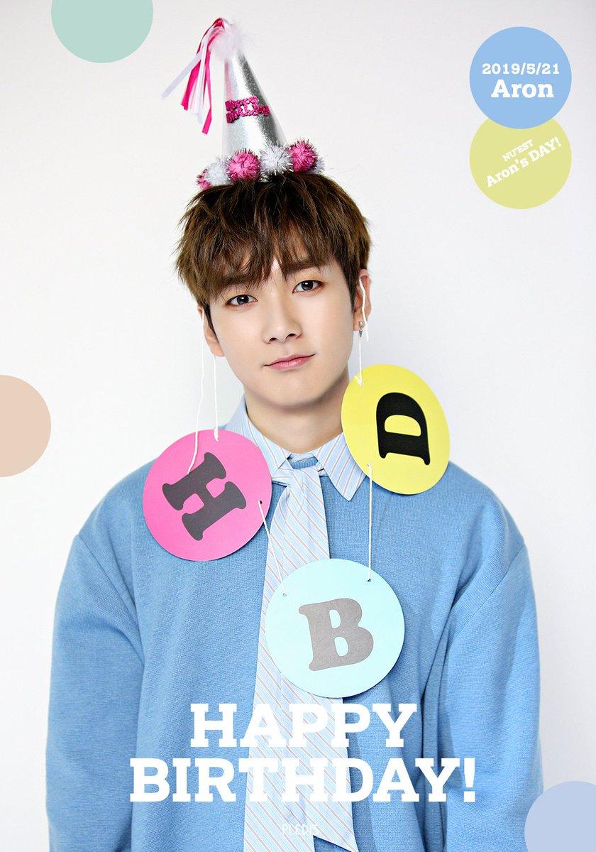 20190521 Happy Aron's Day🐶♥ #Happy_Aron_Day #HAPPY_BIRTHDAY