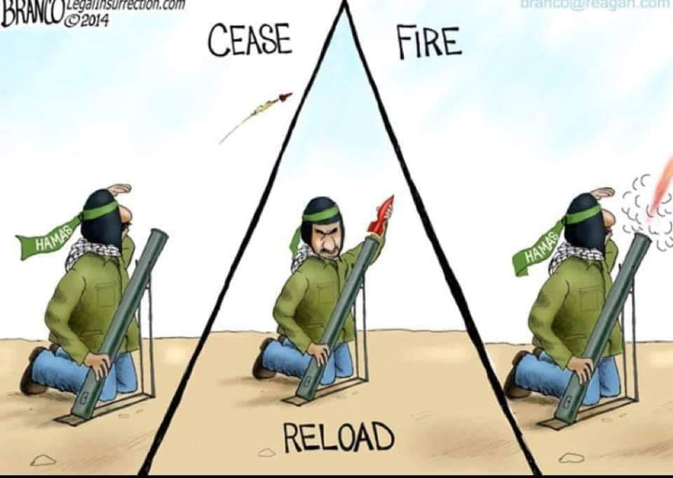 This is what a, &quot;ceasefire,&quot; means to #Hamas #IsraelUnderFire #IsraelUnderAttack #BenjaminNetanyahu is completely on the wrong side of this issue. He&#39;s putting the lives of #Israelis at risk.<br>http://pic.twitter.com/3jQxQ8LAkB