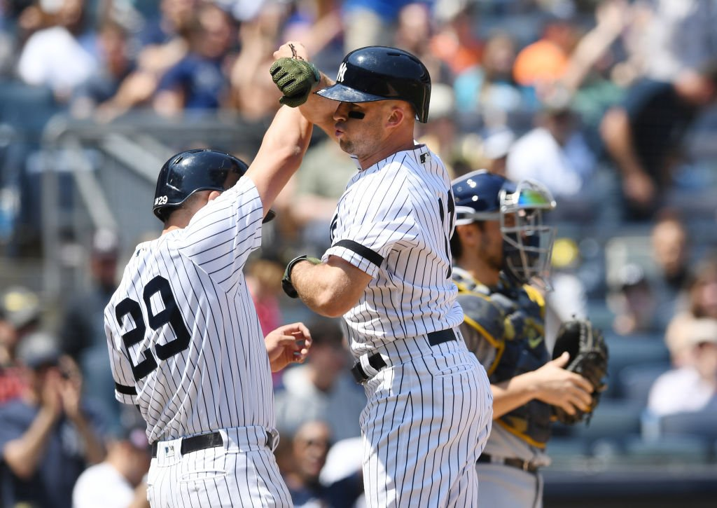 The New York Yankees, who now rank first in the AL East standings, are off to another hot start through the first 45 games #StartSpreadingTheNews 2019: 28-17 2018: 31-14 2017: 27-18