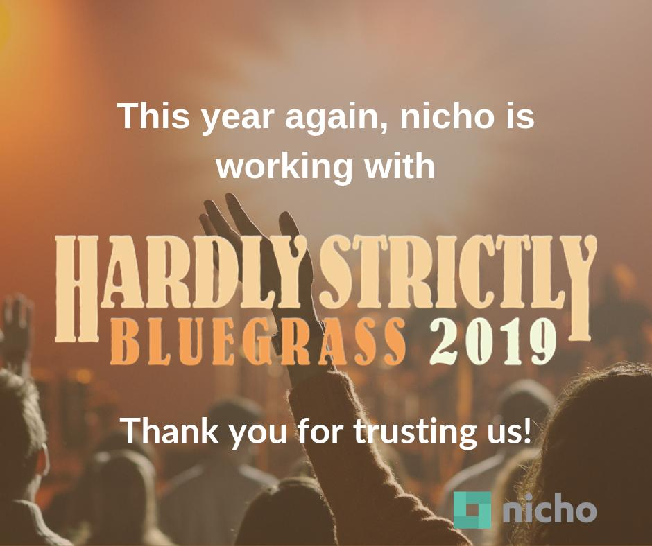 This year again, Hardly Strictly Bluegrass Festival trusts Nicho for its UGC Campaign! Thank you. Access last year's campaign by clicking on the link: http://bit.ly/2Vs7zAl#socialmedia #usergeneratedcontent #nicho