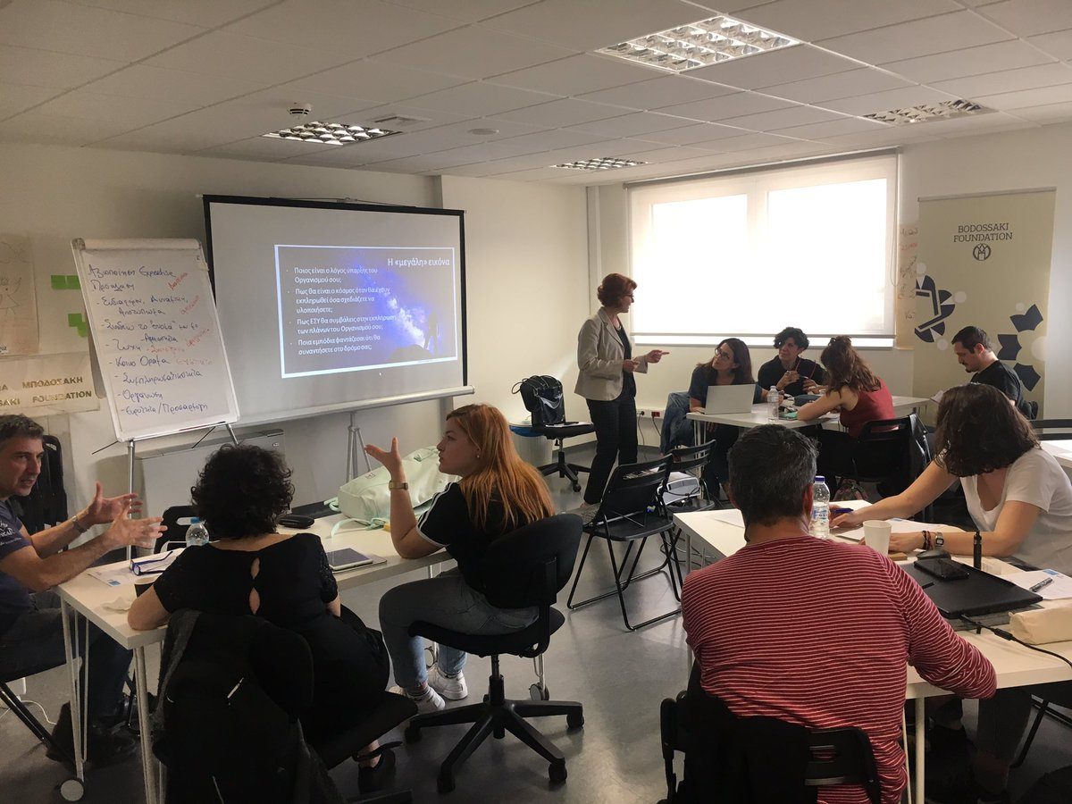 Reinforcing culture: workshops for cultural professionals in Athens in the framework of @ROCK_H2020 @synathina #socialdynamo #synathina #serafeio @CityofAthens