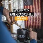 Image for the Tweet beginning: #Ad Black Rifle Coffee @blckriflecoffee is