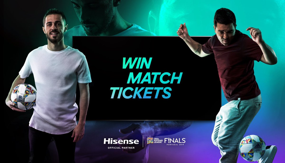 Want to come and watch the UEFA Nations League Finals in Portugal? @HisenseSports is giving away tickets, flights and hotels to 2 winners 🙌 All you have to do is follow @HisenseSports and tag a friend on this post ⚽   #RealLifeSkills #NationsLeague
