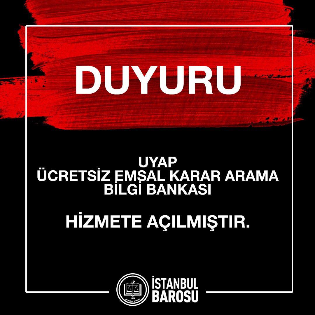 İstanbul Barosu on Twitter:
