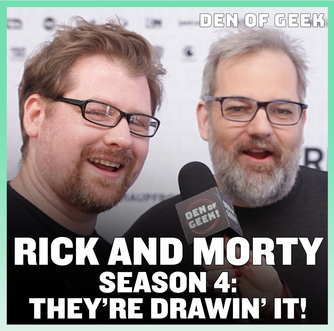 At the #WarnerMediaUpfront, we spoke to #RickAndMorty creators @JustinRoiland and Dan Harmon about what to expect from the upcoming fourth season of the series!