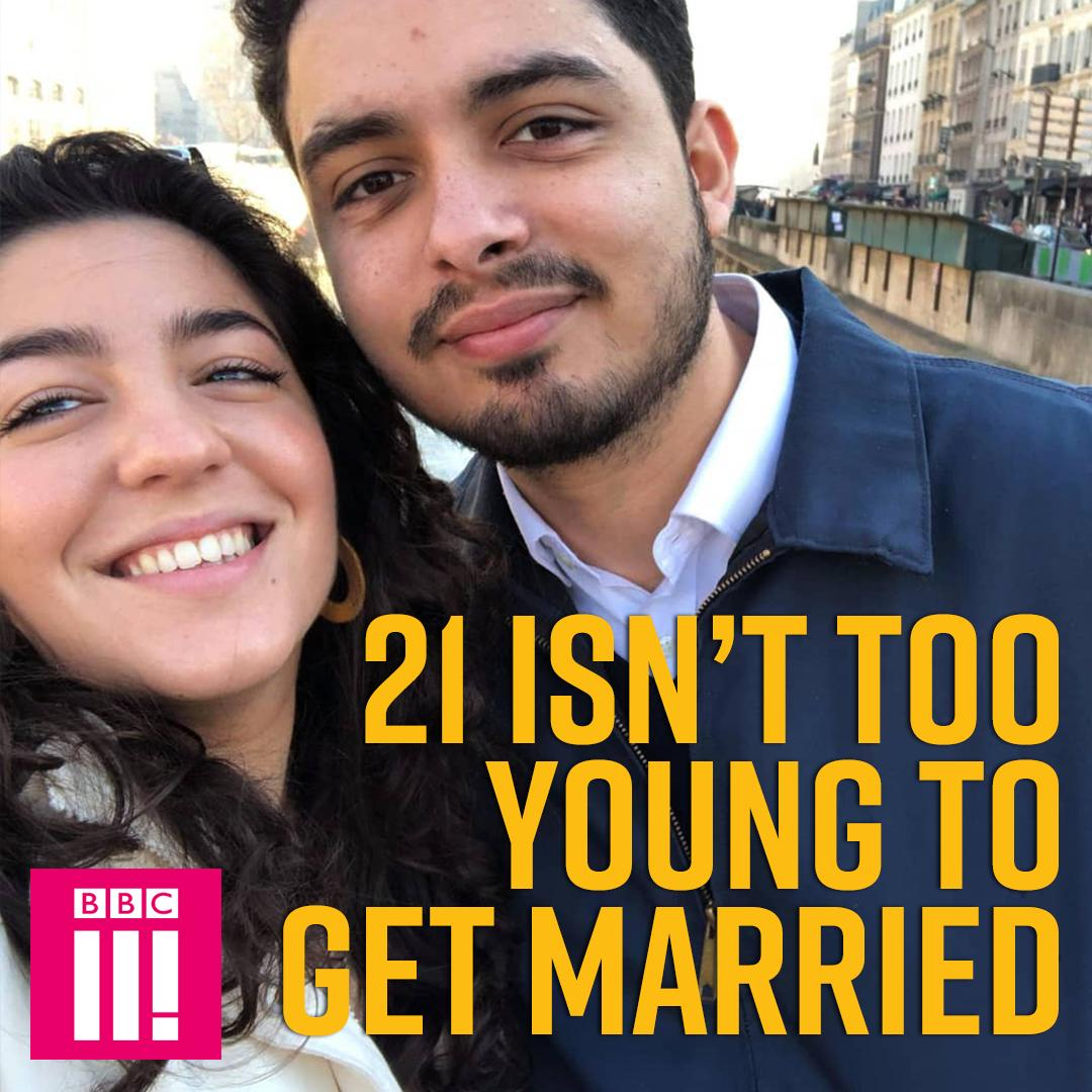 'People think 21 is too young to get married, but we disagree.'