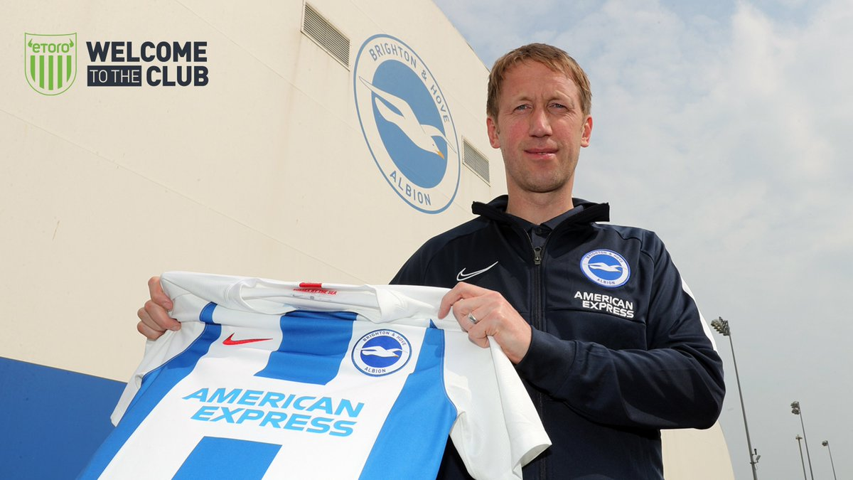✍️ The club are delighted to announce the appointment of Graham Potter as the new head coach of the football club.  📲 Breaking news brought to you by @eToro   #BHAFC 🔵⚪️