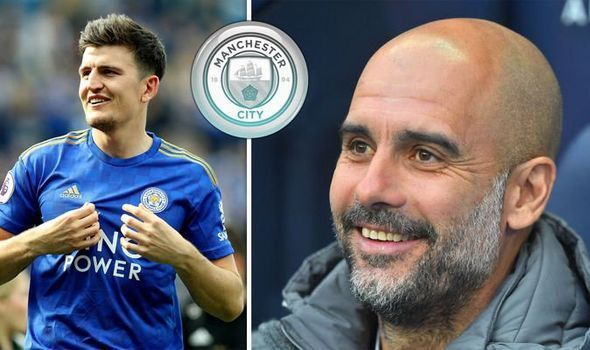 Harry Maguire is one of a number of central defenders being considered by Manchester City to replace Vincent Kompany. (Source: SkySports)