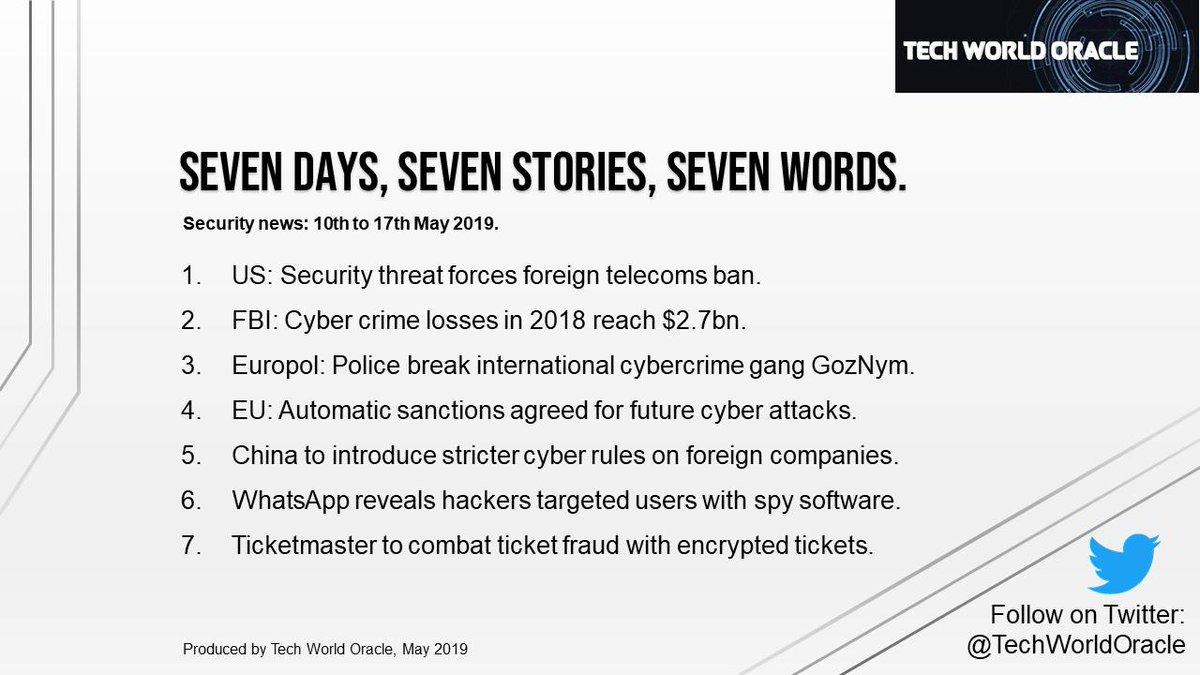 5bc34100812b ... #spy #software #Ticketmaster #tickets #fraud #sevendays #sevenstories  #sevenwords #NewsInBrief #NewsSummary #NewsOnTheGo pic.twitter .com/7XhjoAXSEh