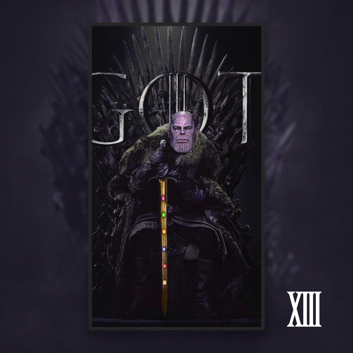 RT @walidchachoua: Game of Thanos - The Infinity Sword ⚔️ #GameofThrones #Avengers #GameOfThronesFinale #Thanos https://t.co/kN65QzNu05