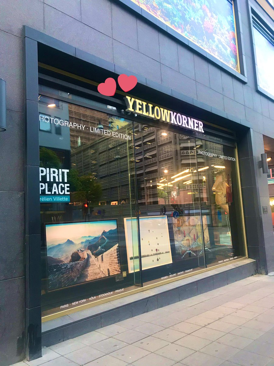 My #yellowkies heart is still there lol (even when I'm in #Sweden #Stockholm )