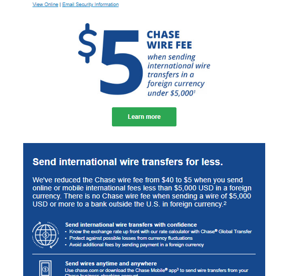 Xrpdarren On Twitter Email From Chase
