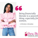 Image for the Tweet beginning: Financial literacy is not only