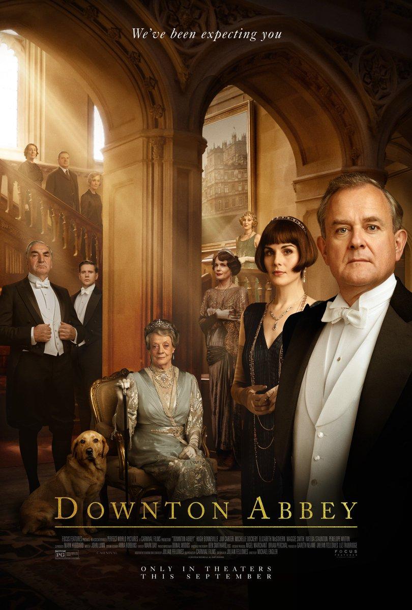 The first #DowntonAbbeyFilm trailer arrives tomorrow.