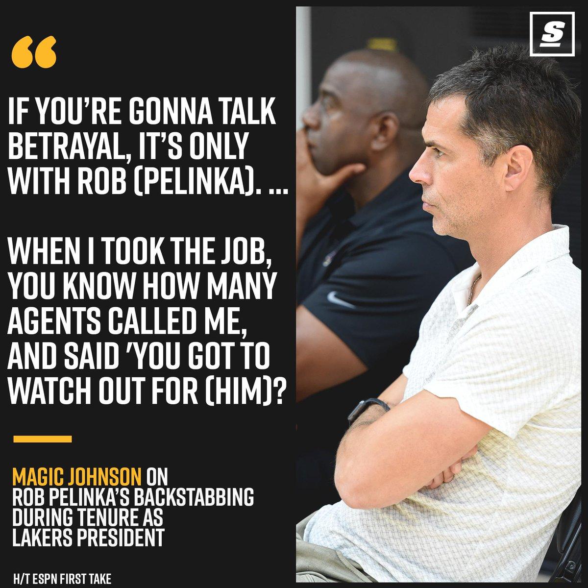 Magic Johnson Reveals Final Straw Of His Lakers Tenure