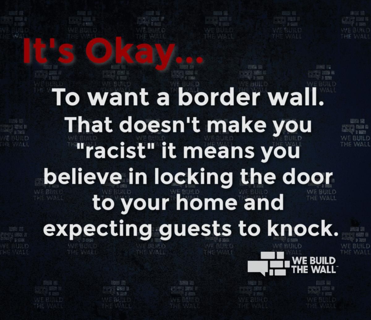 Here&#39;s your Monday Morning Reminder... Let others know   #WeBuildTheWall  @mamendoza480 @SteveRonnebeck @DustinStockton @JenLawrence21<br>http://pic.twitter.com/nVT1UGhktt