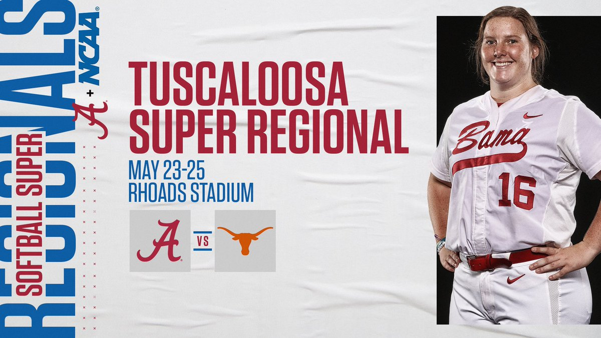 🥎 NCAA Super Regionals  🥎  🚨 SCHEDULE UPDATE 🚨 Time changes and all games on ESPN