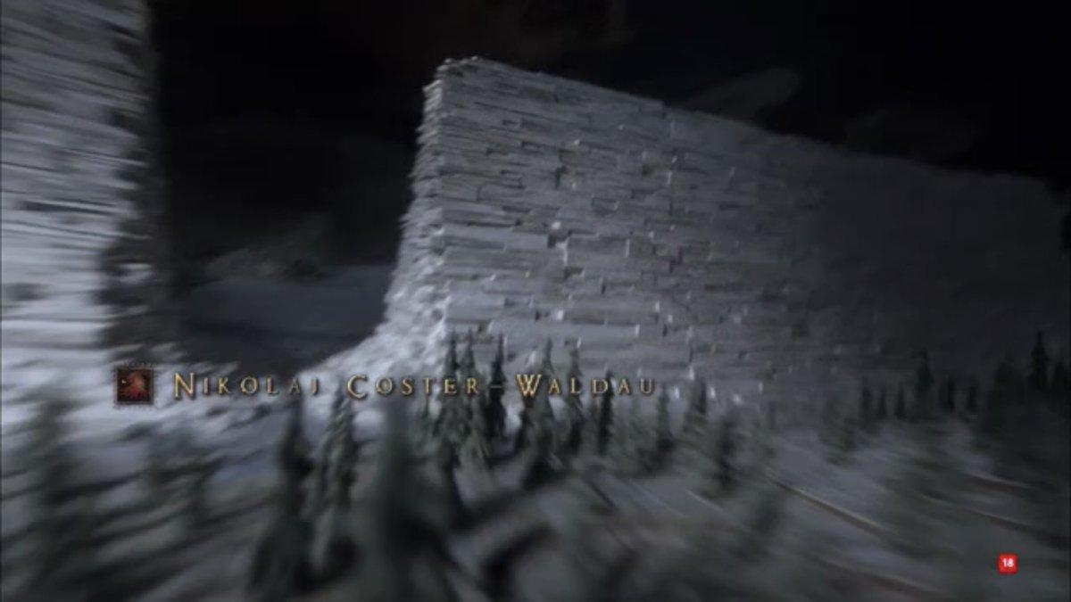 Ojo a la intro de GOT 8x6 Juego de Tronos haciendo Spoilers de sí mismo. Su puta madre.