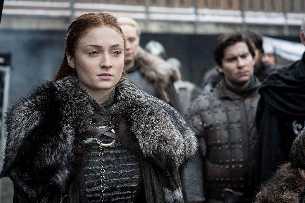 Game of Thrones: Cabelo de Sansa Stark na última cena guarda significado poderoso, vem ver!: http://bit.ly/2WSJunG (Foto: Reprodução/HBO) #GoT