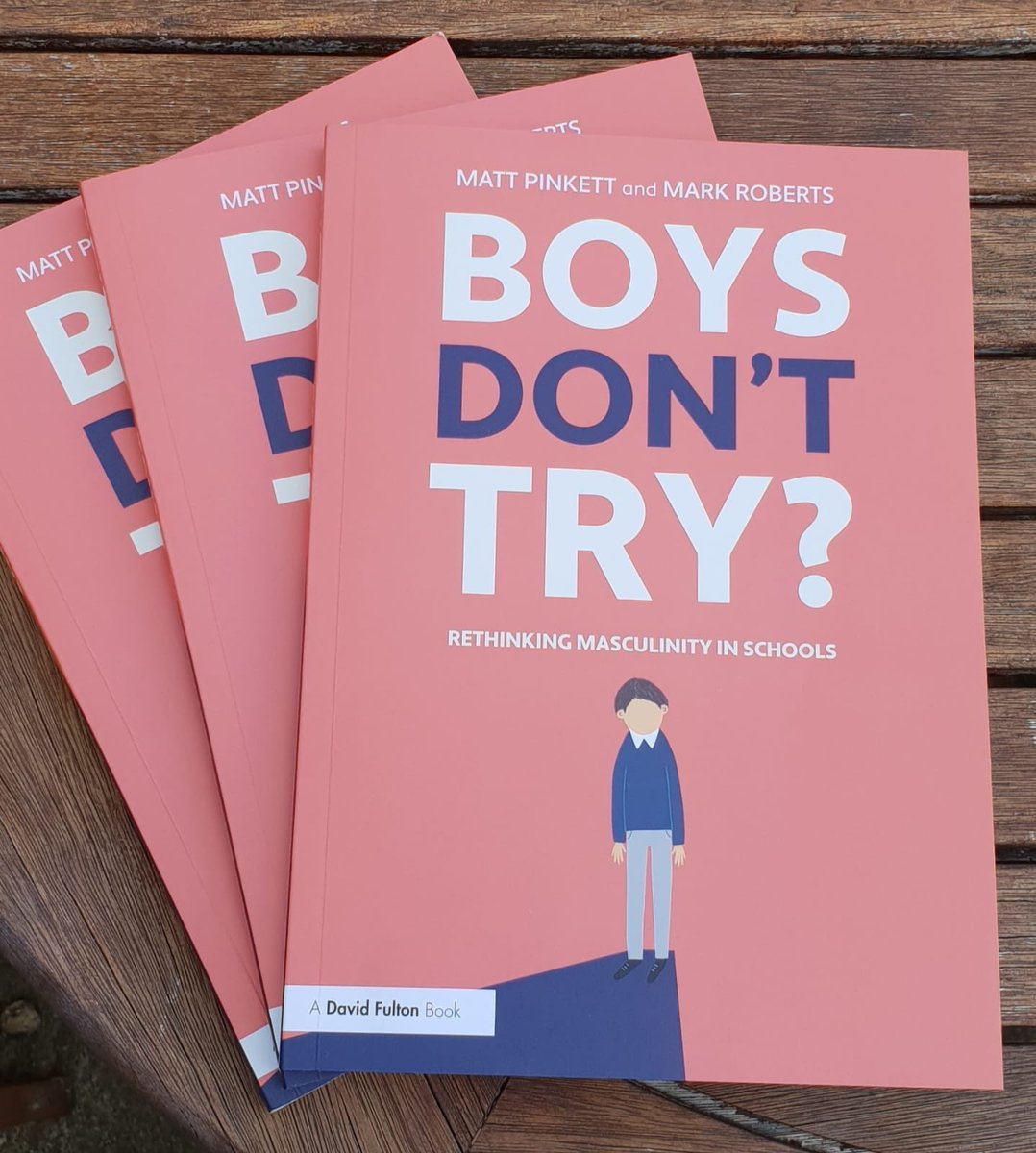 Competition time! Fancy winning one of three signed copies of #boysdonttry? RT to enter. Winners picked at random on Thursday!