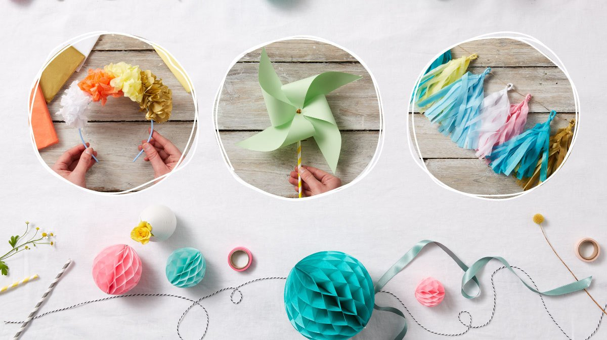 It's almost time to get together with your favourite people and hold a #Crafternoon!  Whether it's a festival flower crown, a summer party decoration or a paper spinner for the kids - we've got the perfect crafty template to get your guests excited >http://bit.ly/2JTTrxp