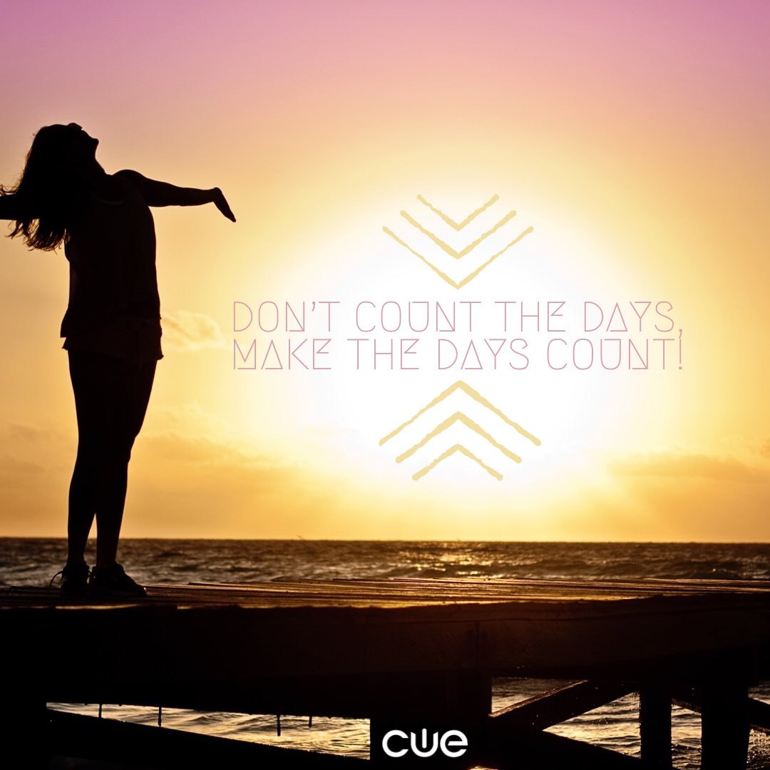 Good Morning CUE!! What are you most excited for this week?