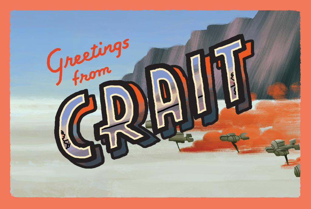 Crait: Home to crystal foxes, abandoned Rebel outposts, and rich minerals (especially salt).   (#StarWarsFanArt by @jungsnrk.)